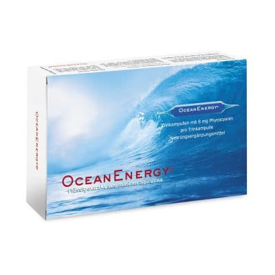 Ocean Energy Trinkampullen